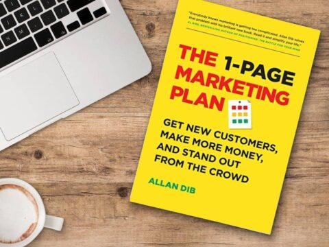طرح بازاریابی یک صفحه ای